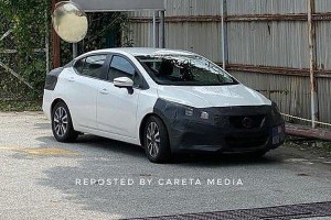 Spied: All-new 2020 Nissan Almera seen, year-end launch possible?
