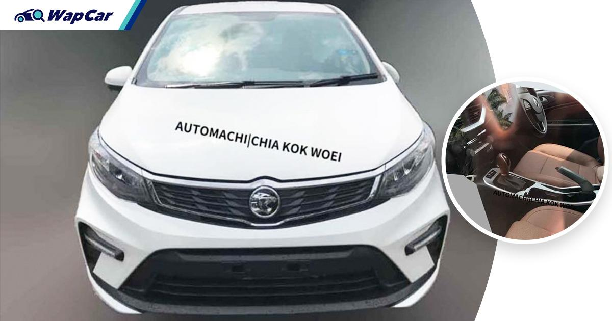 Leaked: 2021 Proton Persona facelift (MC2) specs - Still CVT, at least 4 airbags, larger infotainment screen 01