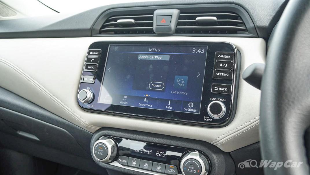 2020 Nissan Almera 1.0L VLT Interior 015