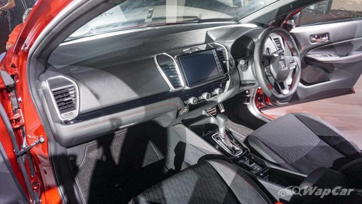 2020 Honda City RS 1.5 Hybrid Interior 003