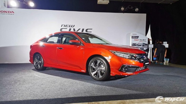2020 Honda Civic 1.5 TC Exterior 001