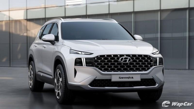 Hyundai Santa Fe 2021 baharu, lampu jadi tumpuan 02