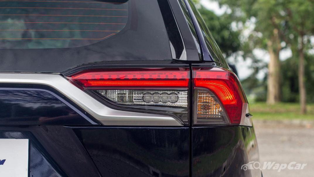 2020 Toyota RAV4 2.5L Exterior 020