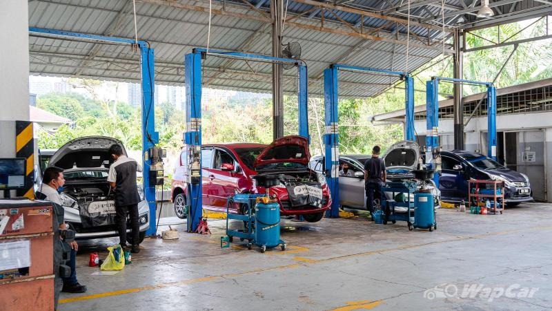 Costs RM 64, our Ativa goes for its 1k km inspection - Long-term Review #5 02
