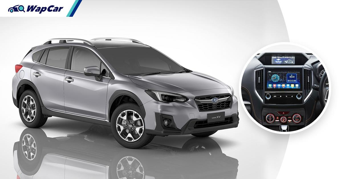 Updated 2021 Subaru XV now RM 3k more but comes with Android Auto/Apple CarPlay 01