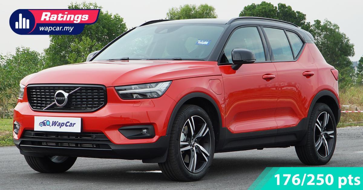 Ratings: 2021 Volvo XC40 T5 Recharge hybrid in Malaysia - Short but enough electric fun 01