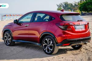 Honda HR-V RS, now available in classy Dark Brown leather interior.