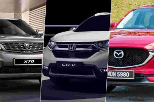 Proton X70 – How does it compare against the Honda CR-V and Mazda CX-5?