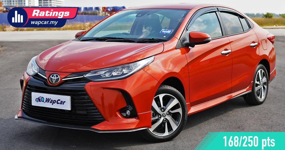Ratings: 2021 Toyota Vios 1.5L G - The best value for money B-segment sedan? 01