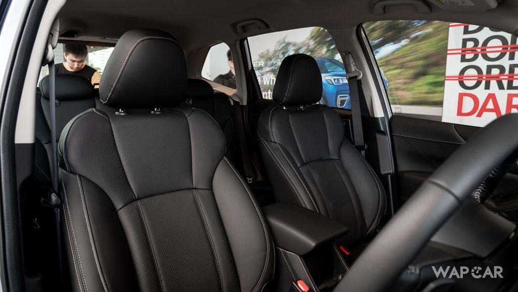 Subaru Forester (2019) Interior 034
