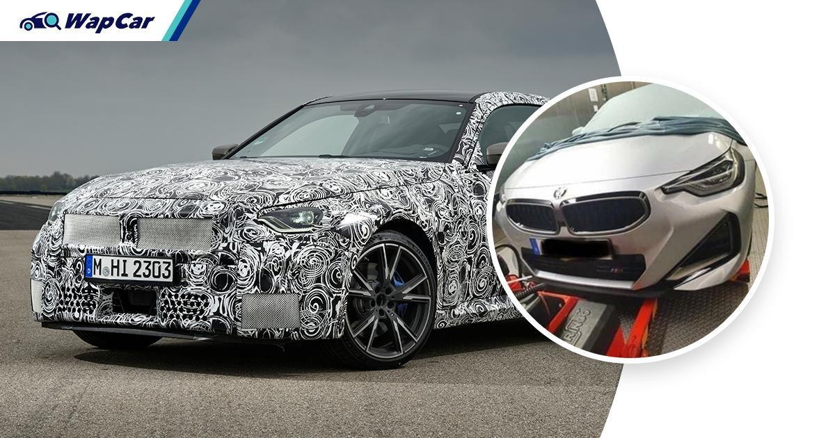 RWD 2022 BMW 2 Series Coupe makes amends to enthusiasts for 2 Series GC 01