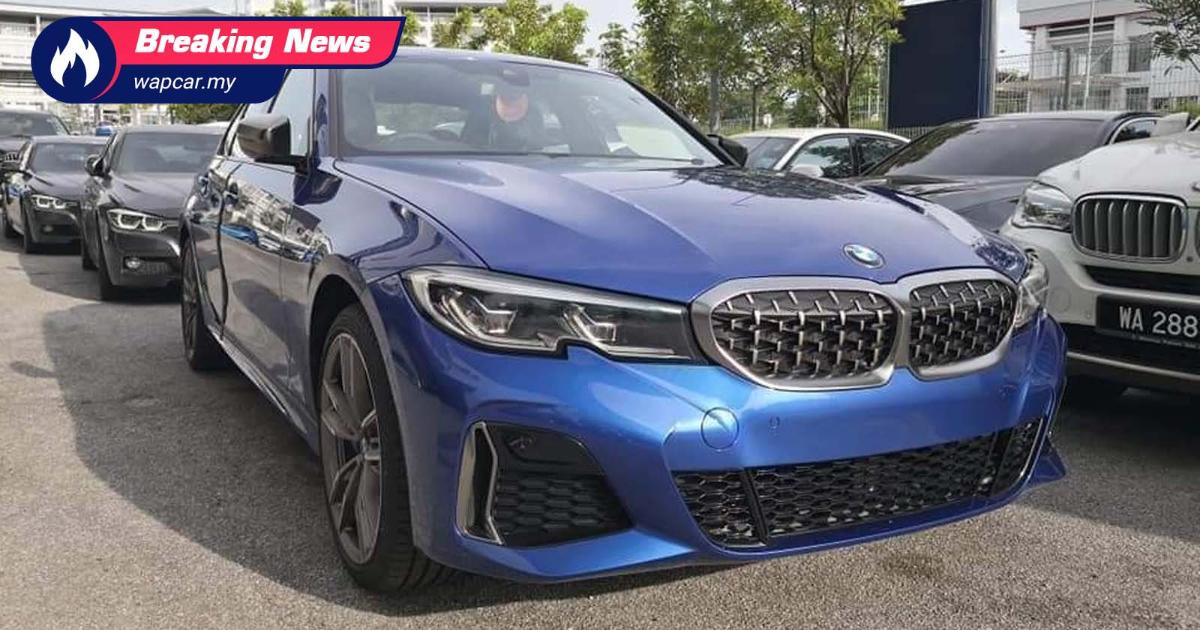 Spied: 2020 (G20) BMW M340i spotted in Malaysia, launching alongside 330e! 01