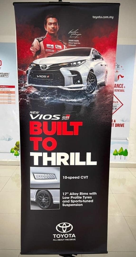 Inilah Toyota Vios GR Sport 2021 sebelum dilancarkan di Malaysia! 02
