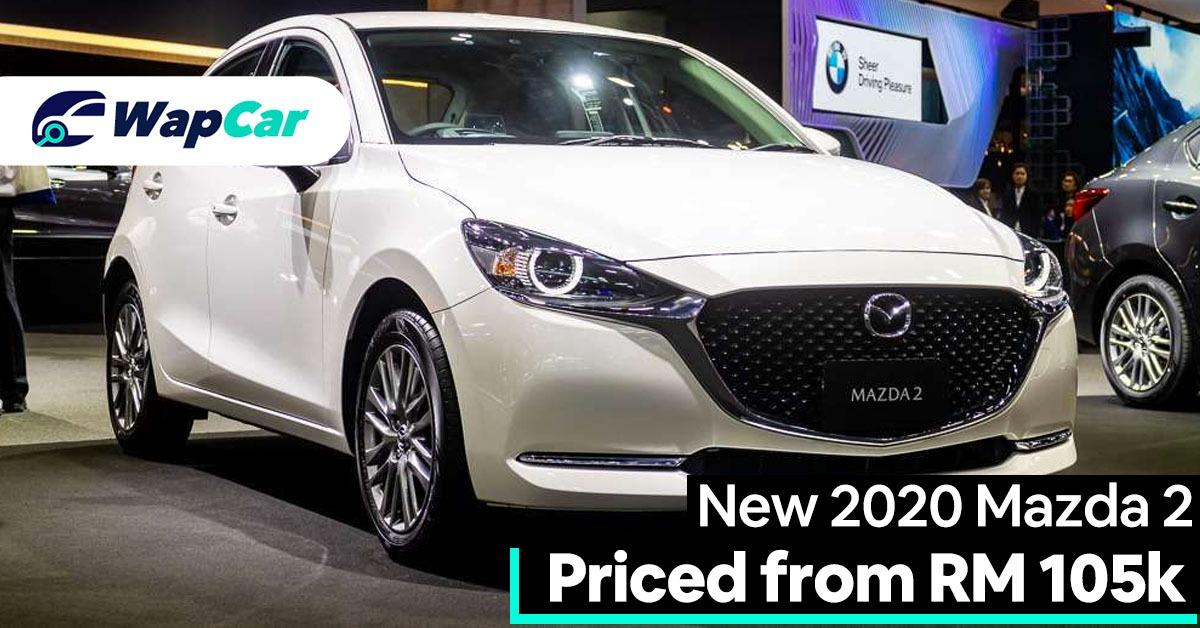 New 2020 Mazda 2 facelift – Price up, from RM104k, adds GVC Plus, Android Auto 01
