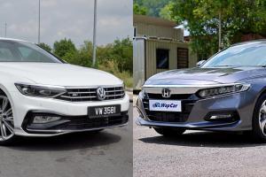 Honda Accord vs Volkswagen Passat, sedan segmen D mana pilihan anda? COTY 2020