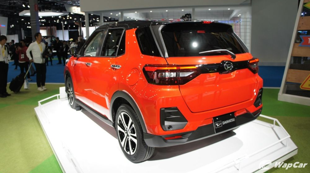 2020 Daihatsu Rocky rear