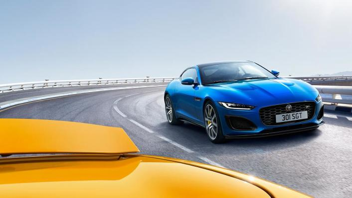 2020 Jaguar F‑TYPE Coupe Exterior 003