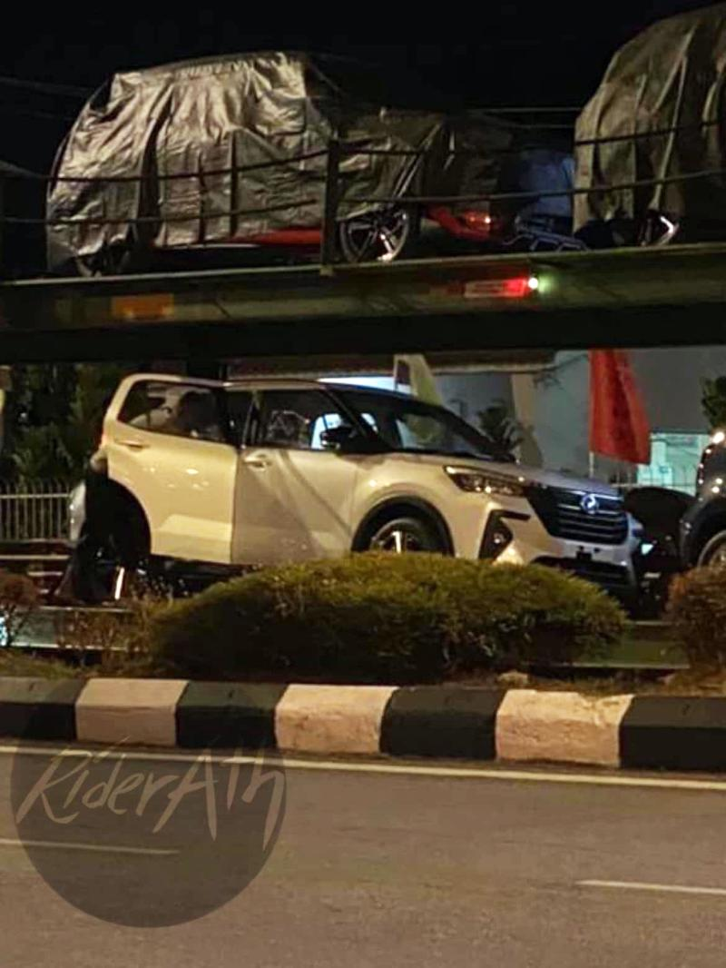 Spied: First look at undisguised Perodua Ativa (D55L)! 02