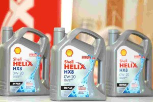 Shell drops the price of their new lubricant!