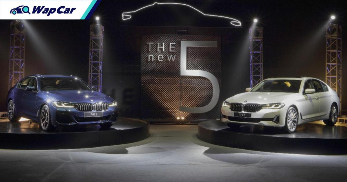 G30 2021 BMW 5 Series facelift (LCI) launched in Indonesia ahead of Malaysia 01