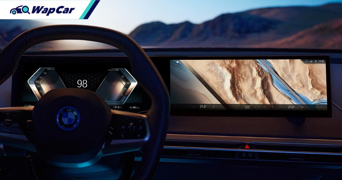 BMW one-ups Mercedes with new iDrive 8 curved display 01