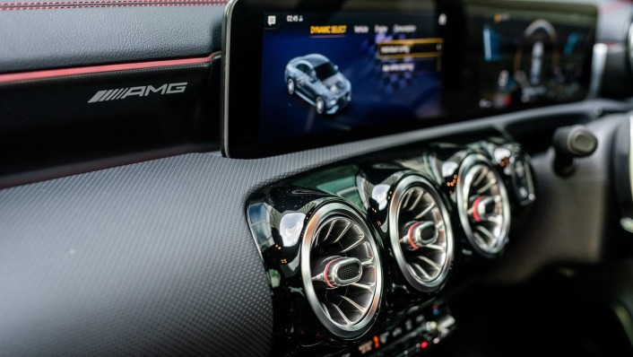 2020 Mercedes-Benz AMG CLA 45 S Interior 008