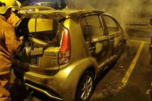 Cash strapped car owners are burning their cars to claim insurance
