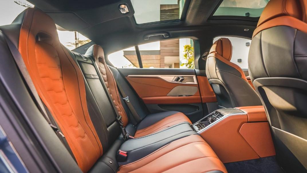 2020 BMW 8 Series 840i Gran Coupé M Sport Interior 009