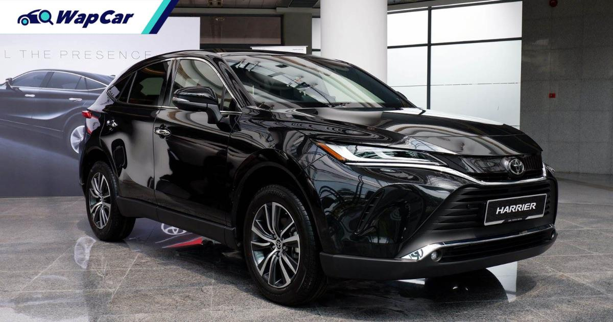 Toyota Harrier will fail in Malaysia? It just hit its 2021 sales target in 1 week 01