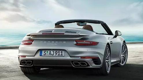 2019 Porsche 911 911 Turbo Cabriolet Exterior 002