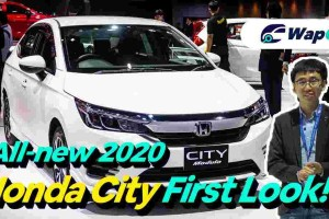 Video: All-new 2020 Honda City 1.0L VTEC Turbo first look, looks much better in person