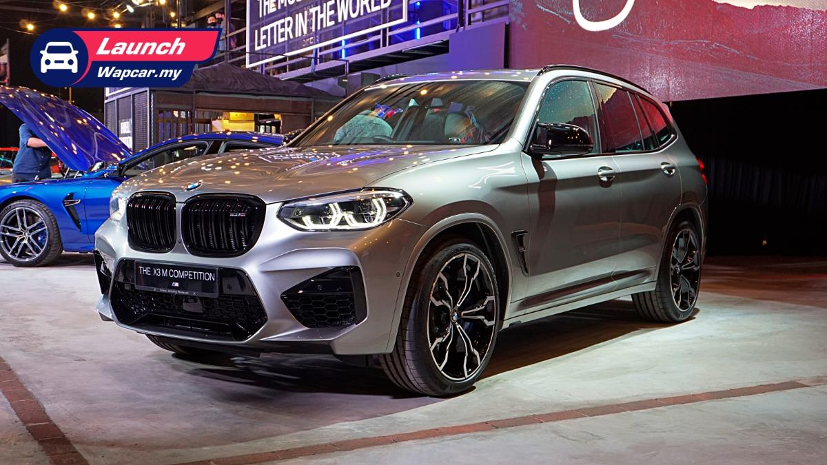 2020 (F97) BMW X3 M Competition launched in Malaysia, 510 PS/600 Nm, RM 886k 01