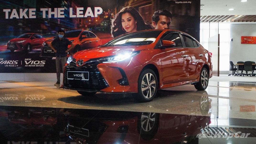 2021 Toyota Vios 1.5G Exterior 005