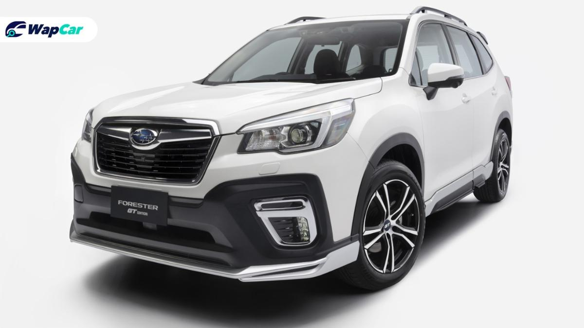Stand out with the Aggressive Subaru Forester GT Edition 01
