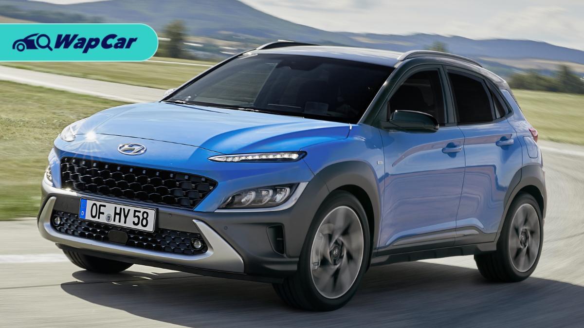 Hyundai Kona Facelift revealed: New mild-hybrid option, wireless Android Auto and Apple CarPlay 01