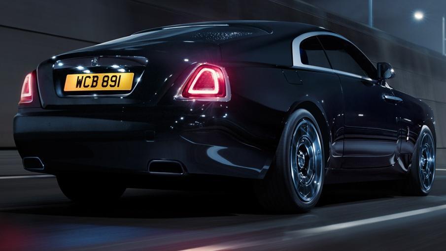 2018 Rolls-Royce Wraith Wraith Black Badge Exterior 003