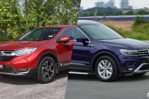 Honda CR-V atau VW Tiguan? SUV mana yang lebih baik?