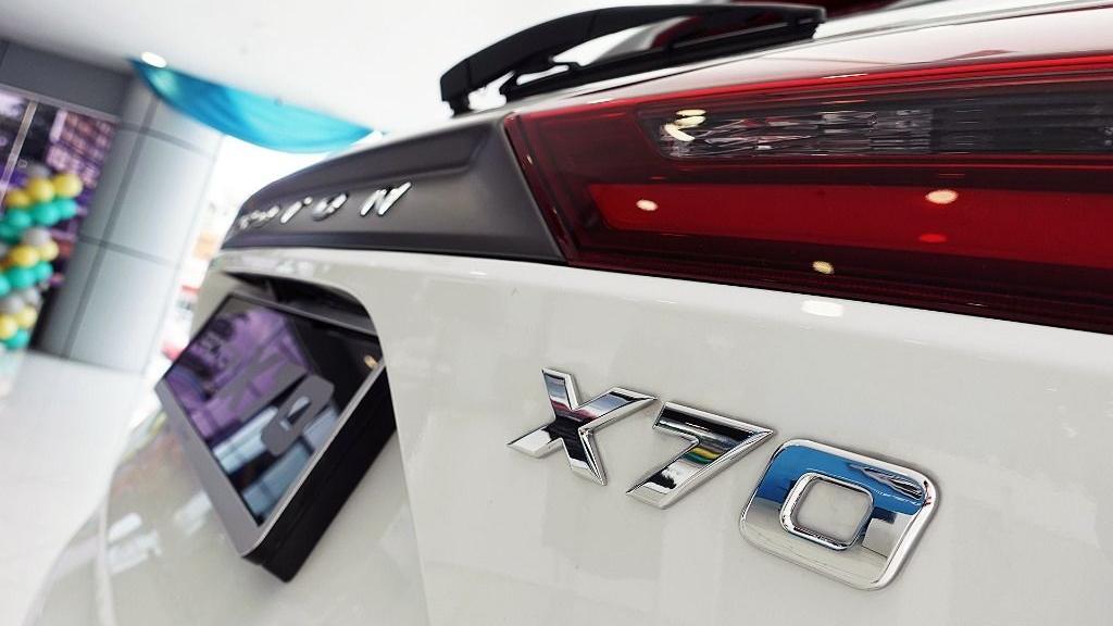 2018 Proton X70 1.8 TGDI Executive AWD Exterior 038