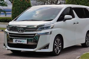 Buying a recond Toyota Vellfire is going to get harder, here's why