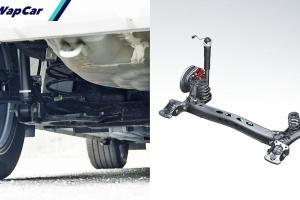 Kereta dengan torsion beam suspension tak bagus? Betul ke?