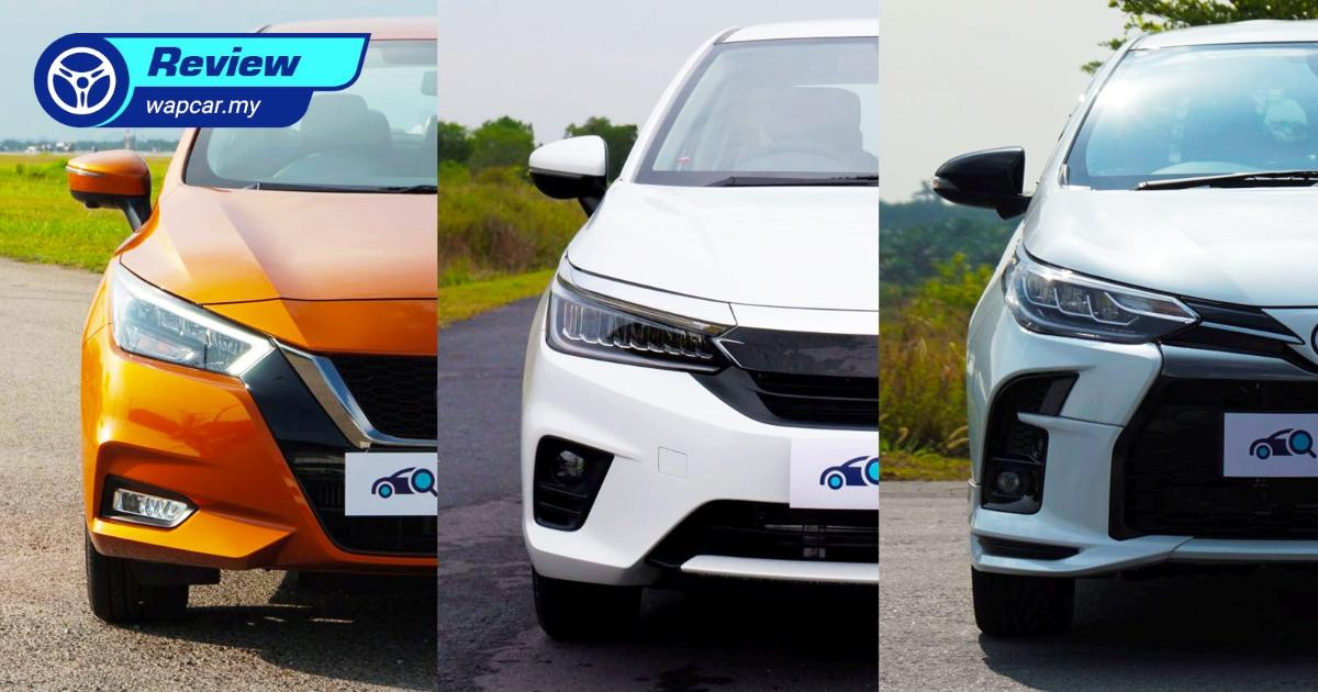 Shopping for a B sedan? Here's our top 3 choices for under RM 100k 01