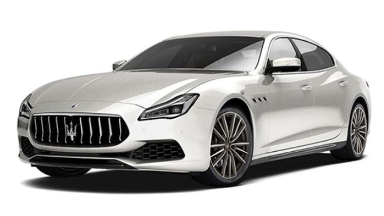 Maserati Quattroporte (2019) Exterior 002