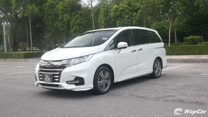 2018 Honda Odyssey 2.4 EXV Exterior 001