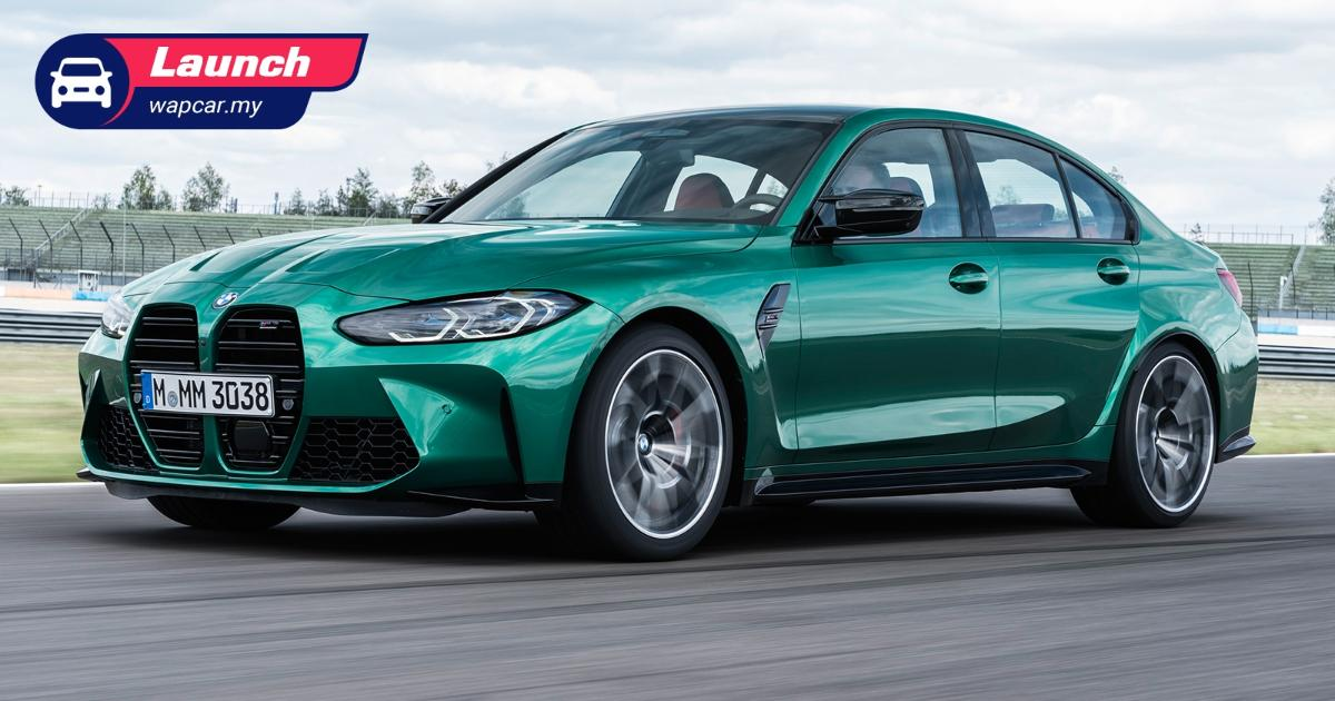 All-new G80 BMW M3 Competition introduced in Malaysia; 510 PS/650 Nm, from RM 664k 01