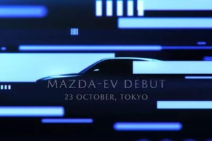 Mazda teases its first ever electric car ahead of Tokyo Motor Show