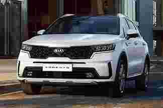 All-new 2020 Kia Sorento - 35 mm longer wheelbase, new 8-DCT, 227 hp/350 Nm hybrid, PHEV next