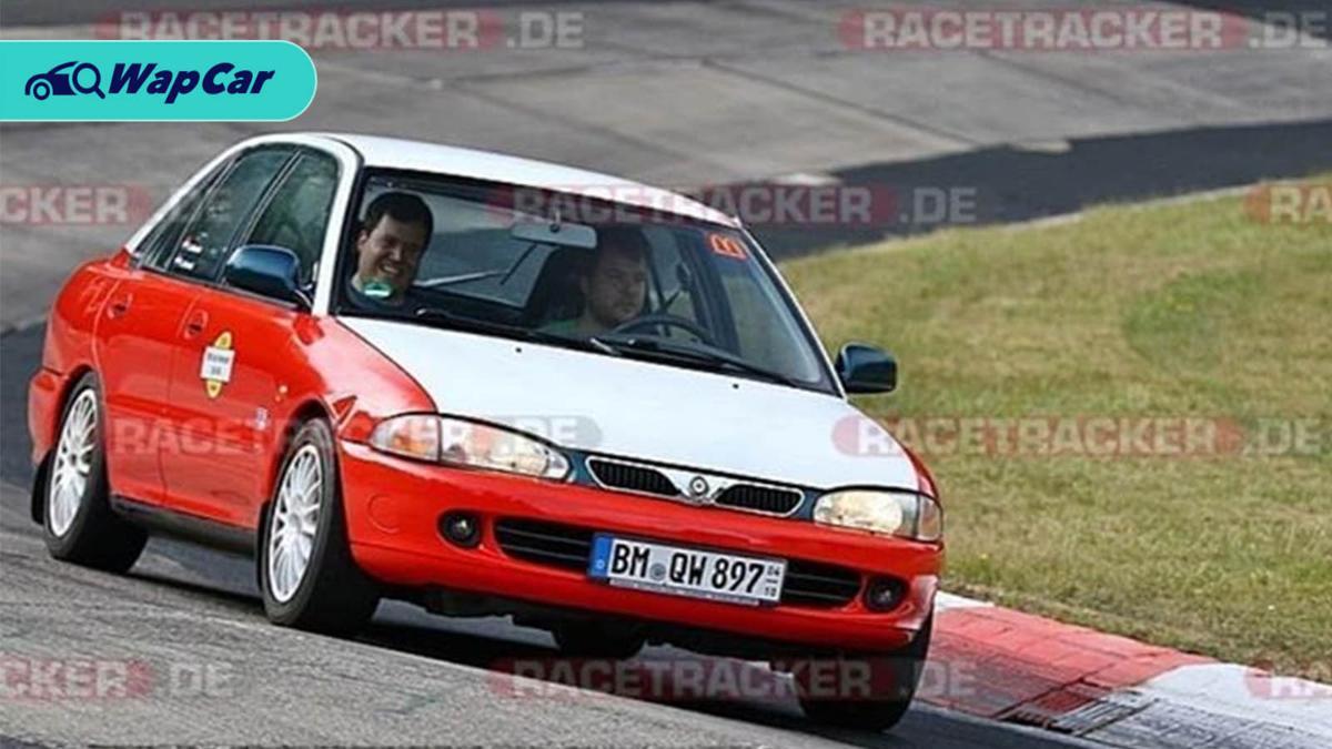 Malaysia Boleh – Proton Wira 'Teksi' takes on the Nurburgring 01