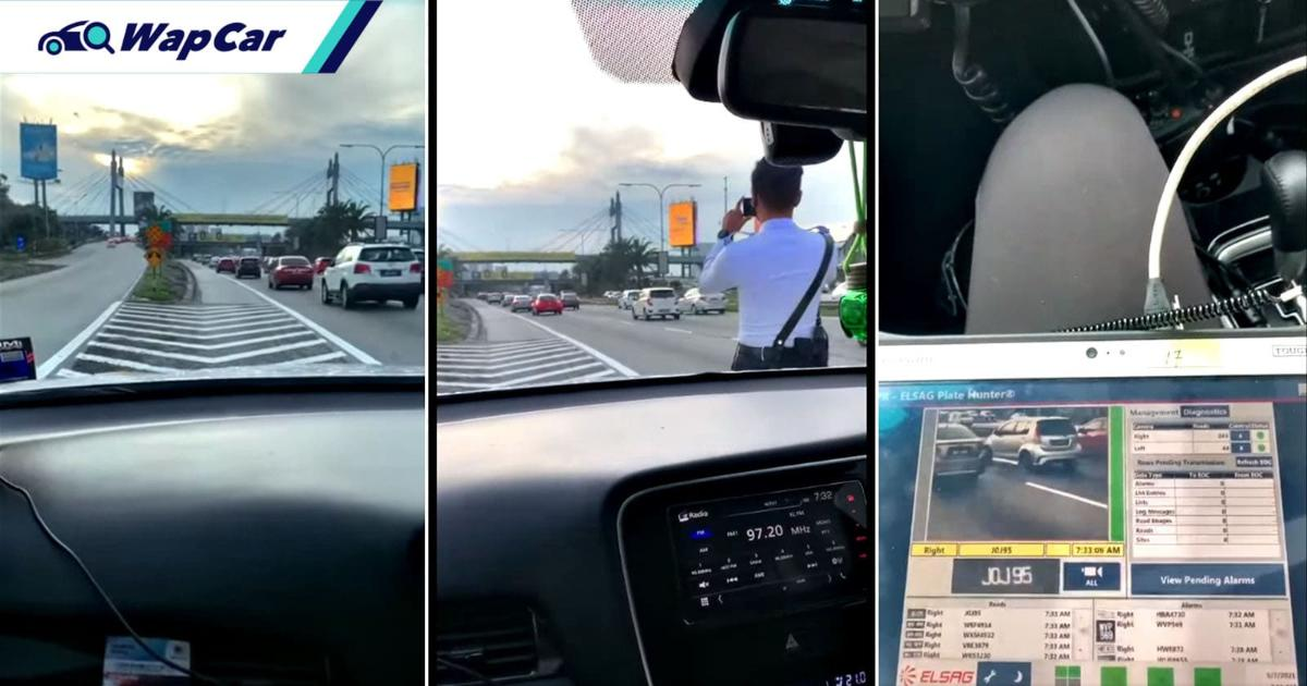 It's not a speed trap camera! PDRM is testing new number plate recognition system 01