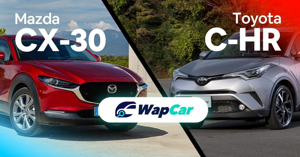 2020 Mazda CX-30 vs. Toyota C-HR comparison, why not a Honda CR-V? 01