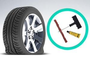 Should you get your tyres plugged or patched?